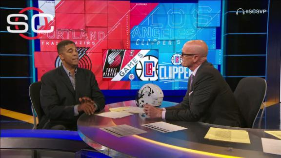 Daugherty: Blazers very dangerous going forward