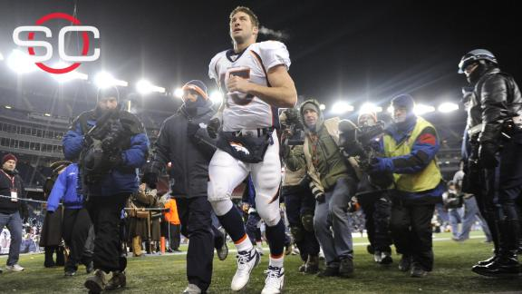 Video - Broncos fans want Tebow back