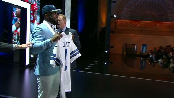 Video - Cowboys take Elliott with fourth pick