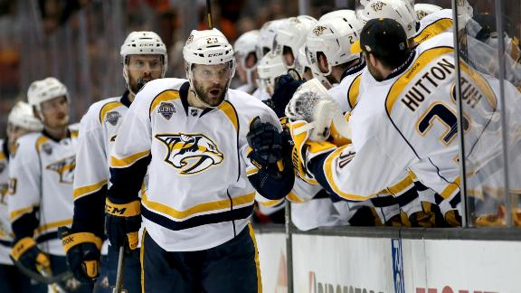 Predators hold on, beat Ducks in Game 7