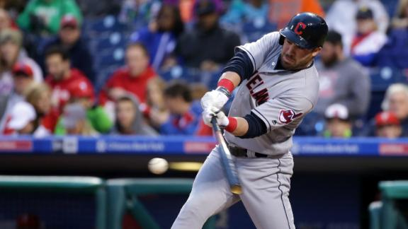 Kipnis sends it over the wall for two