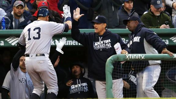 A-Rod goes over Green Monster