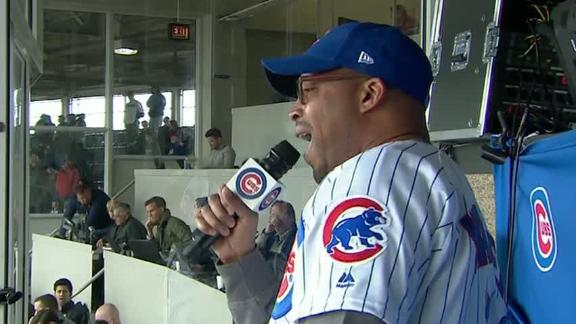 Warren G's interesting rendition of 'Take Me Out To The Ballgame'