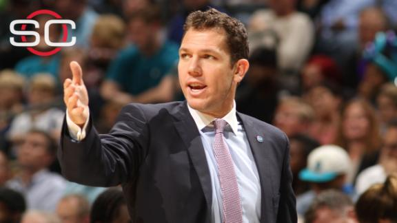 Luke Walton to take over Lakers after Warriors' season ends