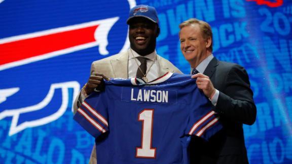 Video - Rodak: Bills not worried about Lawson's shoulder