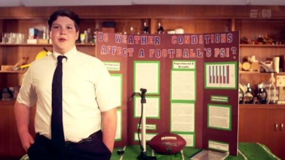 Video - Middle schooler Ben Goodell out to free Tom Brady