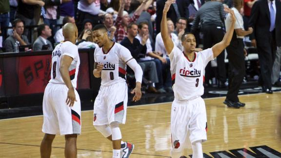 Trail Blazers close out Clippers in Game 6