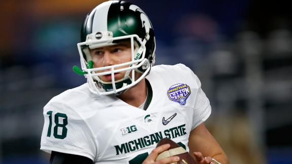 Raiders trade up to draft QB Cook in 4th round