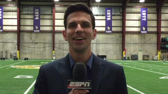 Video - Treadwell fills Vikings' biggest draft need