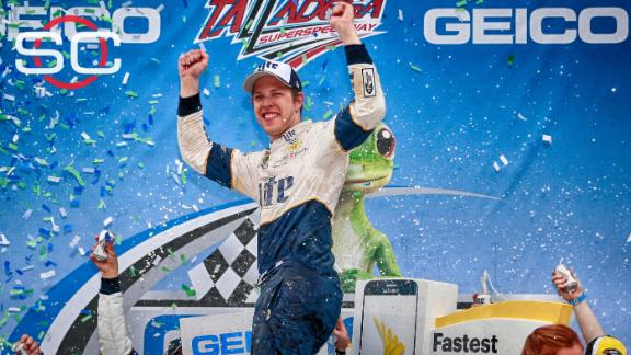 Keselowski wins wreck-filled race at Talladega