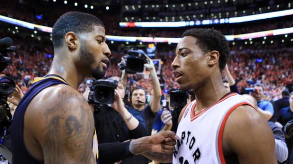 Raptors finally shake playoff futility