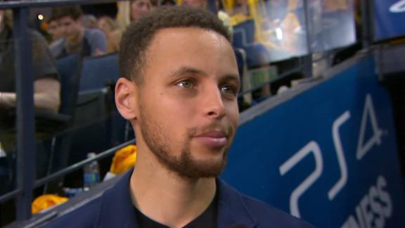 Curry says chances of playing Game 3 are 'pretty good'