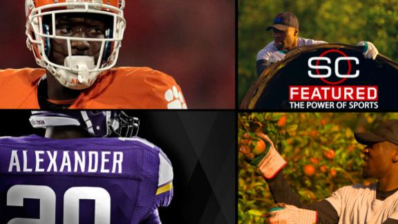 Mackensie Alexander's field of opportunity: from Florida's orange groves to the NFL