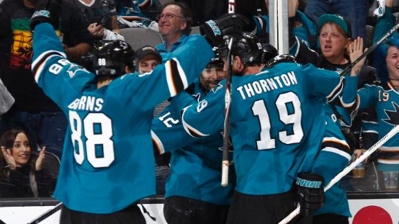 Sharks top Predators, take 2-0 series lead