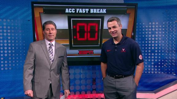 Virginia coach Tony Bennett answers the fast break questions
