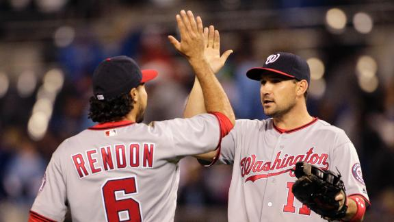 Nationals blank Royals, win fourth straight