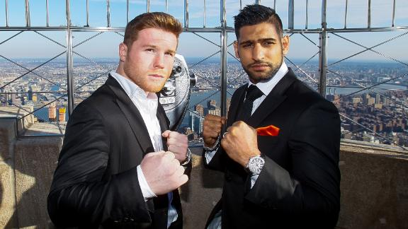 ESPN3: Alvarez-Khan weigh-in, LIVE