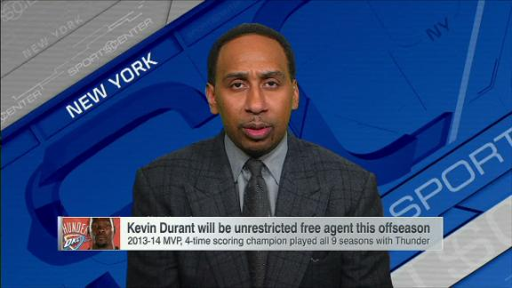 Stephen A.: Heat are automatic title contenders with Durant