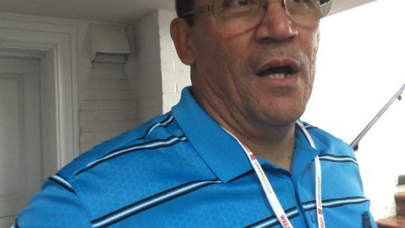 Rivera loves golf's challenges