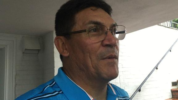 Ron Rivera getting great golf advice from wife