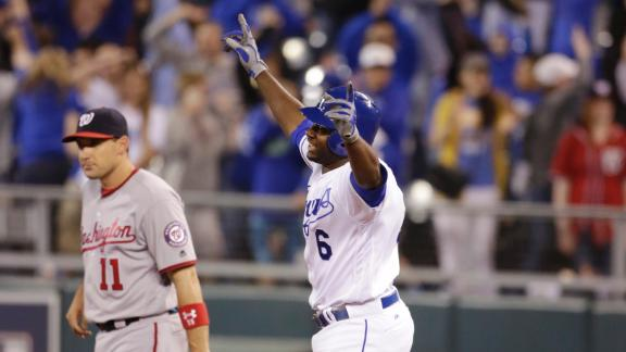 Royals rally for walk off-win over Nats
