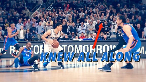The 16 things you missed in a ridiculous Thunder-Spurs ending