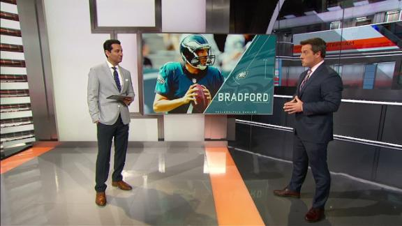 Video - Bradford wants to go where he can start long term