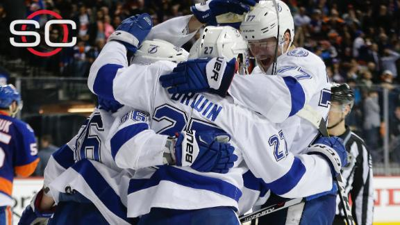 Lightning stun Islanders with Boyle's OT winner