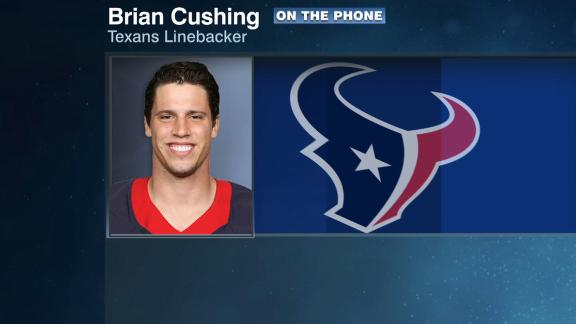 Video - Texans have group text over Watt's social media activity