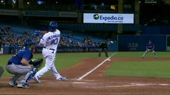 Encarnacion crushes game-tying two-run homer