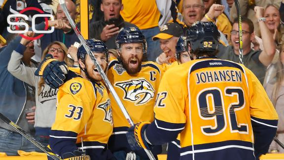 Predators get crucial Game 3 win over Sharks