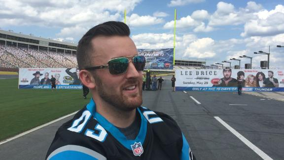 Dillon felt pressure holding for kicker Gano