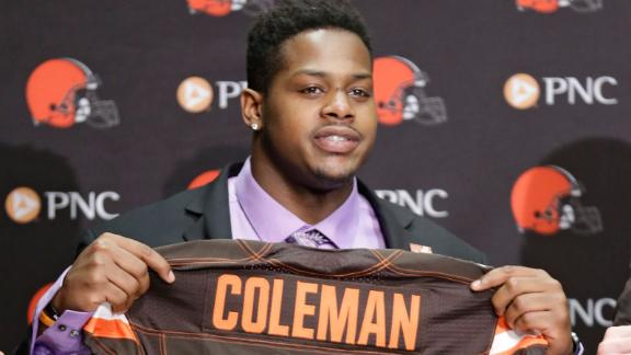 Video - Coleman achieves NFL dream despite adversity