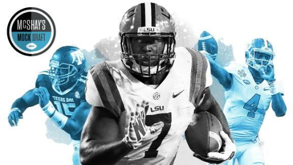 McShay analyzes his 2017 way-too-early mock draft