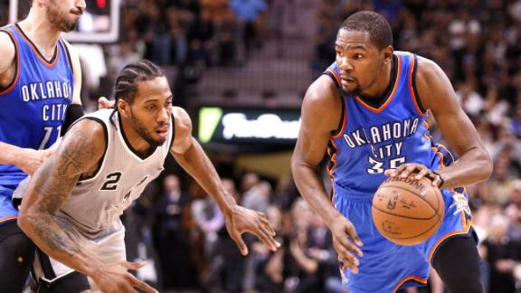 Could Durant end up in San Antonio?