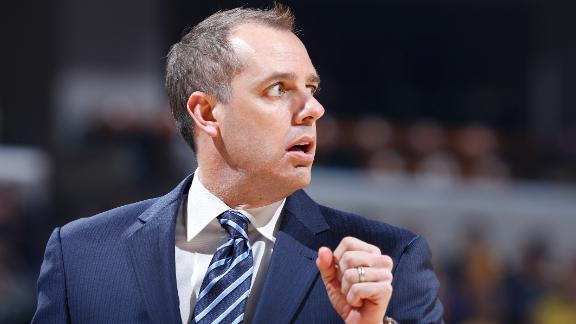 Video - Pagano says 'there's better things ahead' for Frank Vogel