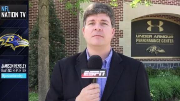 Video - Ravens' Kamalei Correa already in high gear