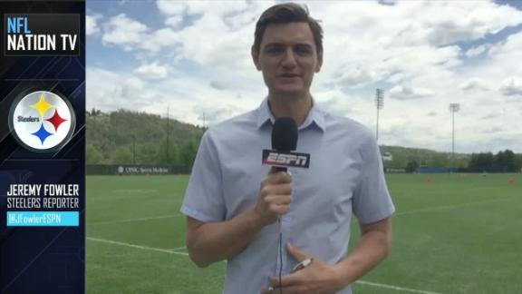 Video - Steelers minicamp pushes the pace on rookies