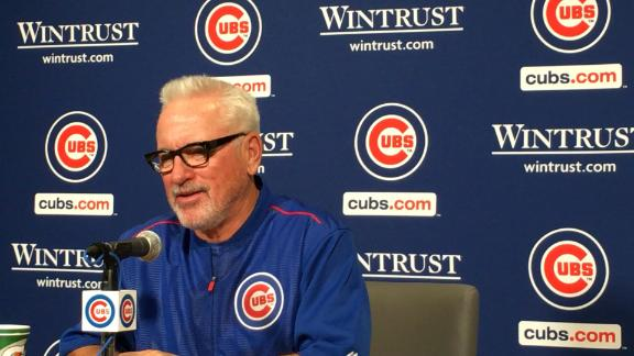 Maddon on walking Harper: We had to pick our best spots