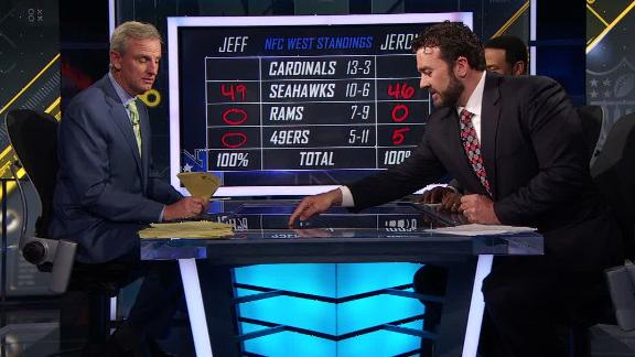 Video - Saturday, Bettis give Cards best chance to win NFC West