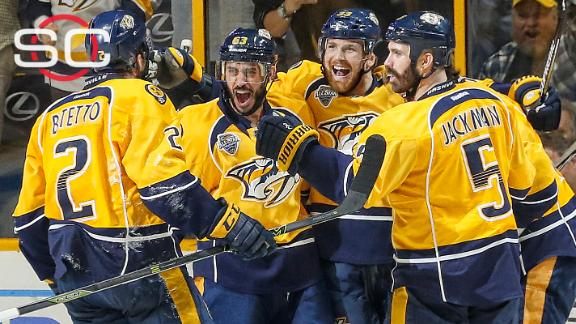 Predators stave off elimination with OT win