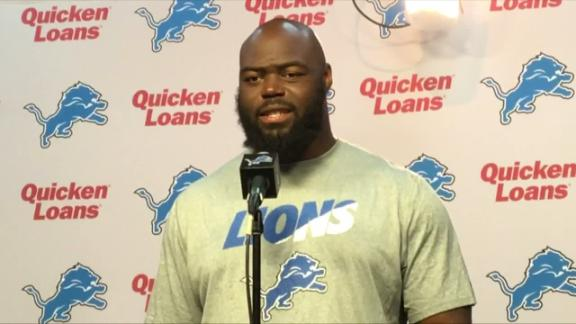 Video - A'Shawn Robinson: Learning a lot about 'amazing' Lions history