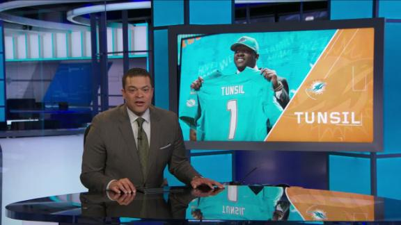 Video - Dolphins' plan for Tunsil