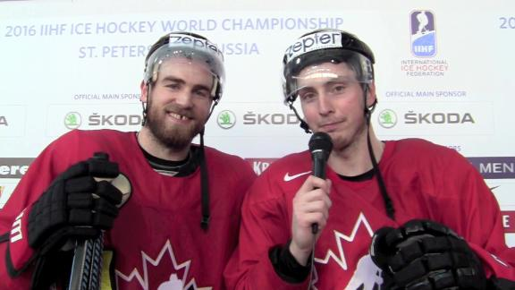 O'Reilly, Duchene staying loose at World Championships