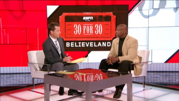 Video - 30 for 30: Believeland - Earnest Byner joins SportsCenter