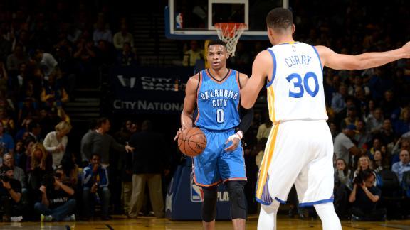 Throwing it back to all Warriors-Thunder regular-season matchups