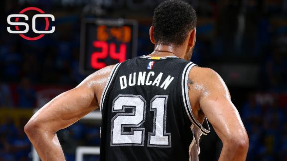Duncan's knees could be deciding factor for future