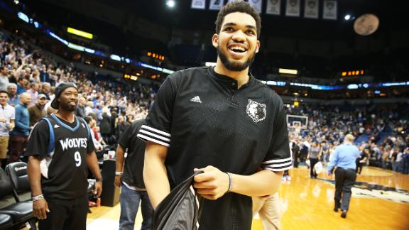 Karl-Anthony Towns' rookie season was ridiculously incredible