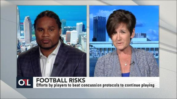Video - The inherent risks of football