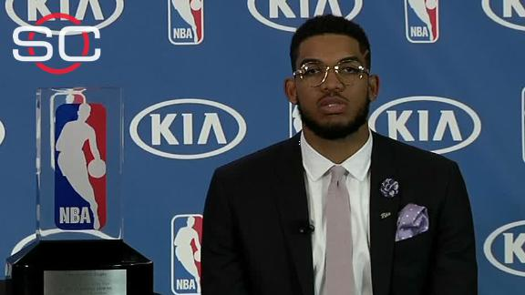 Towns: 'We're going to be a playoff team next year'